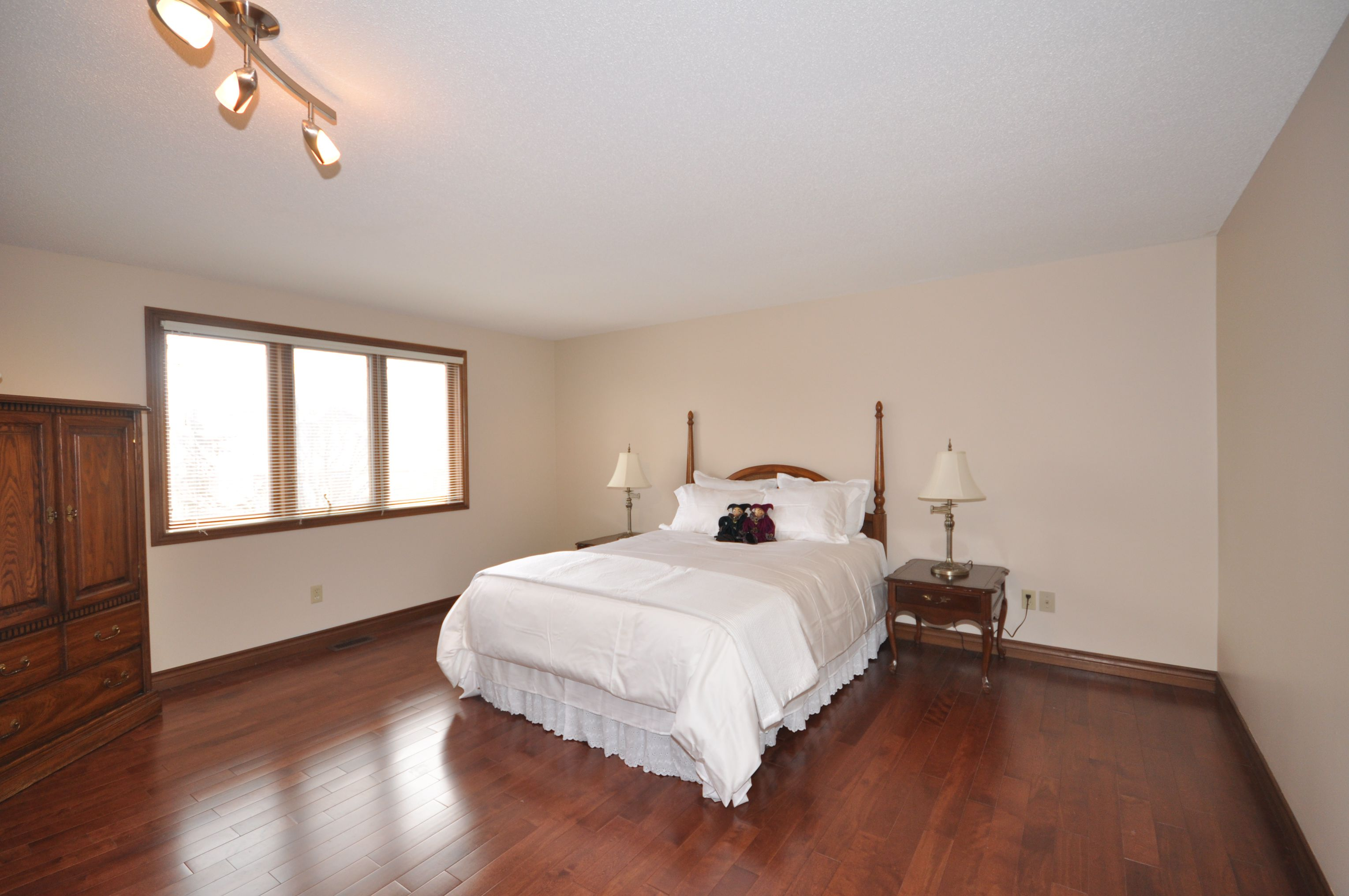 4 nice sized Bedrooms all with hardwood floors