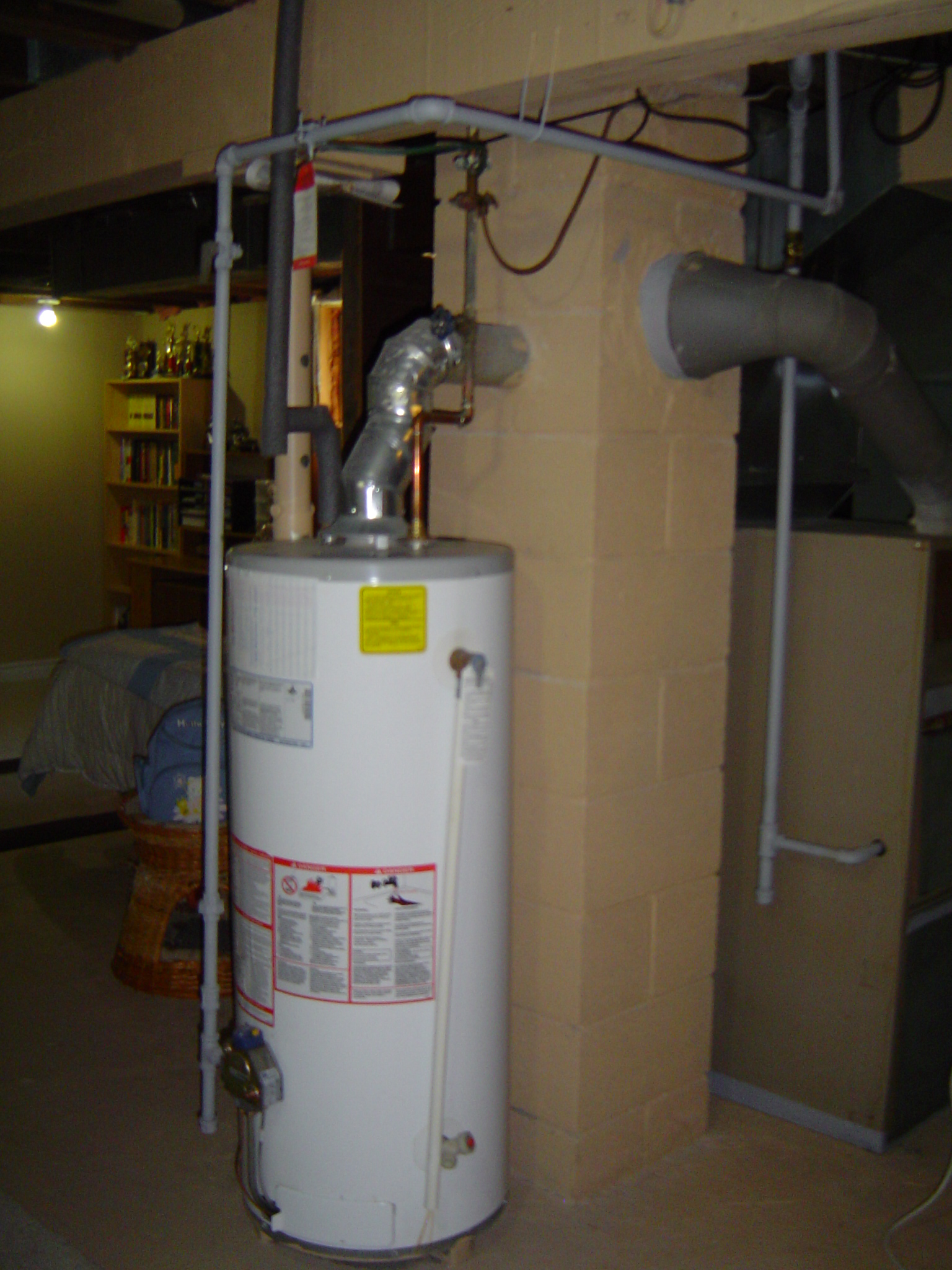 Rental water heater