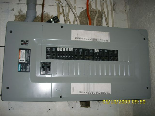 Newer 100 Amp Panel