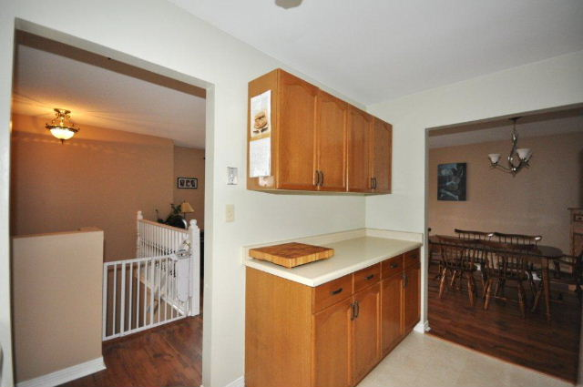 Extra Bank of Cabinetry in Kitchen