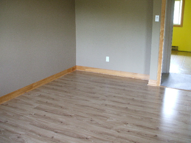 Updated master bedroom with high grade laminate flooring