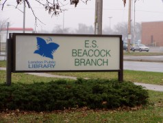 Branch library nearby.