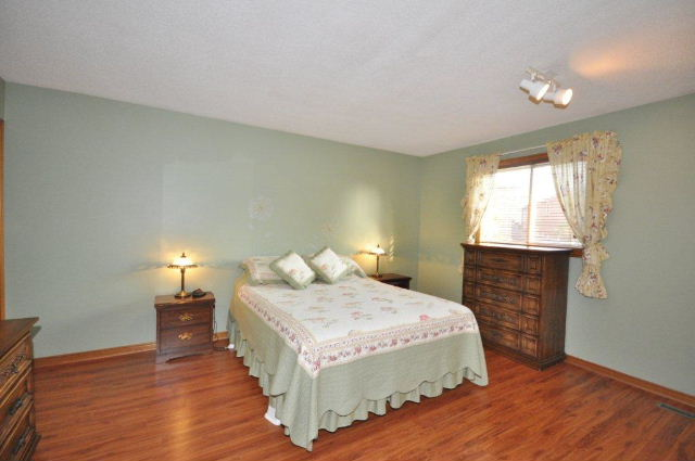 Master Bedroom with newer flooring