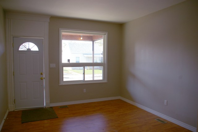 Living Room with sunny newer window