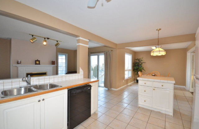 Kitchen is open to Family Room, Dining Room and Sundeck