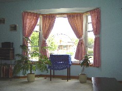 Enjoy all the sunlight from the large bay window