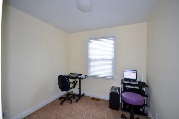 3rd Bedroom used as office with new carpet