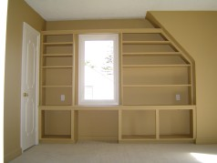 2 of the bedrooms have built in shelving