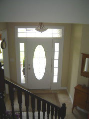 View of the foyer from 2nd floor landing