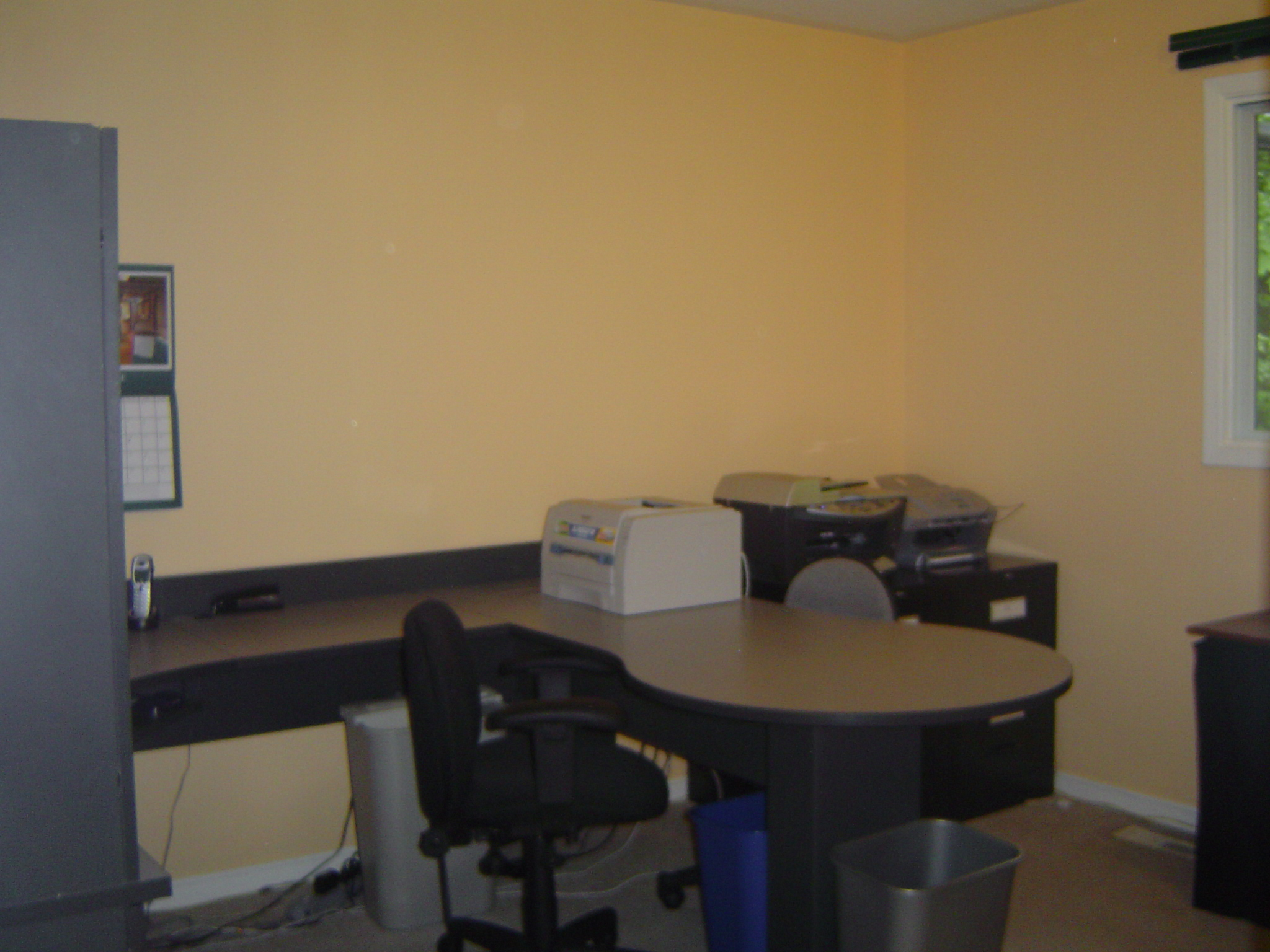 One of the bedrooms makes a great office and has a walk in closet full of shelves...perfect for your in home business